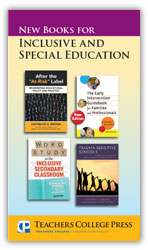 Inclusive and Special Education, Spring/Summer 2016