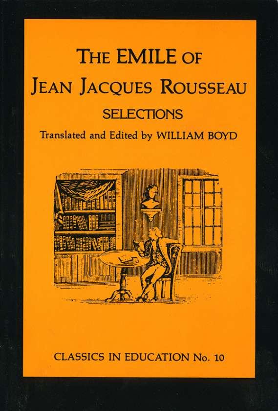 Emile of Jean Jacques Rousseau