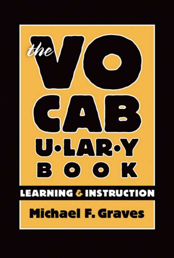 The Vocabulary Book