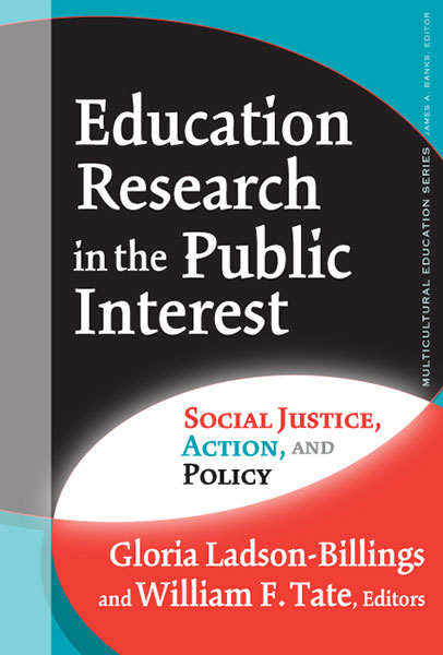 Education Research in the Public Interest 9780807774335