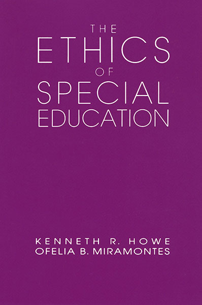 Ethics of Special Education 9780807774410