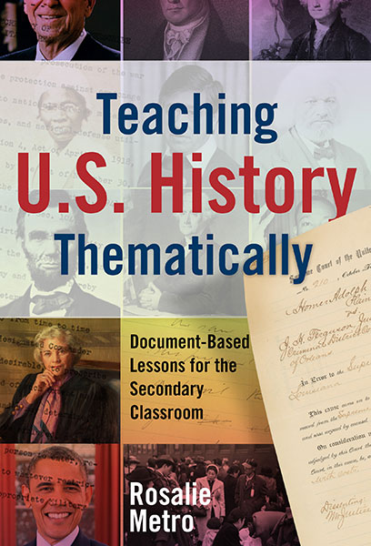 Teaching U.S. History Thematically 9780807776636