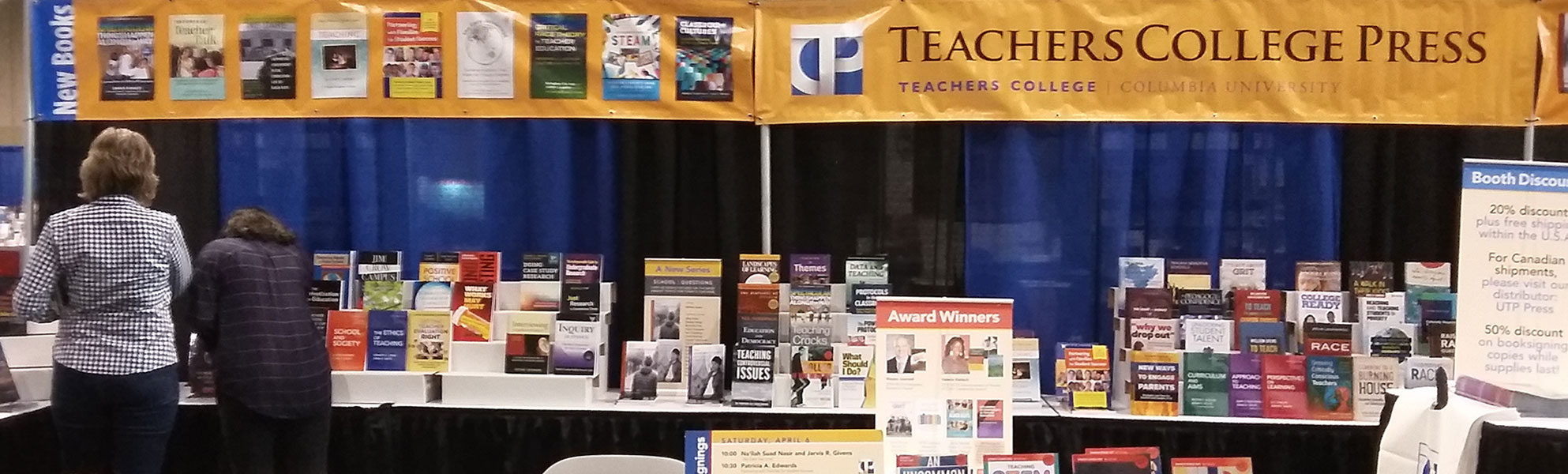 TC Press AERA Virtual Exhibit